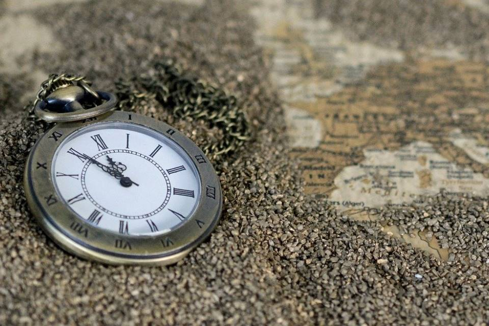 Pocket Watch and Map