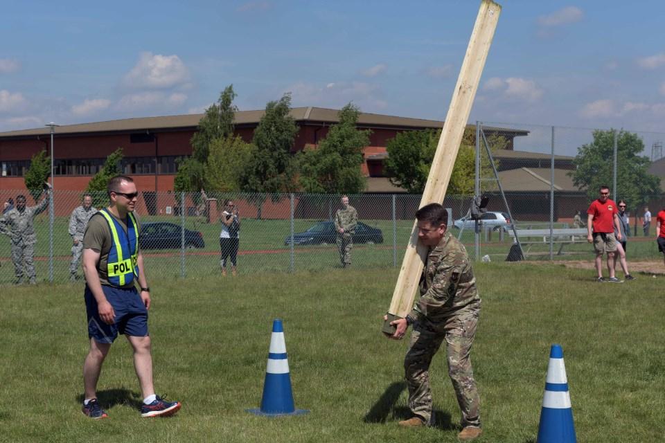 RAF Mildenhall's Inaugural Highland Games