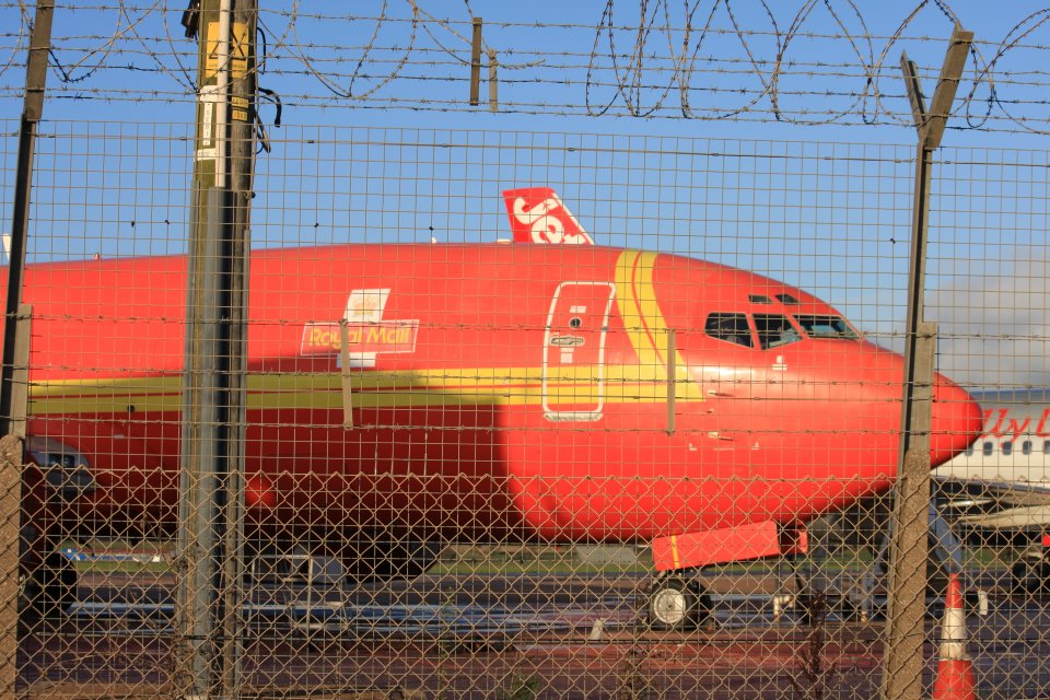 Royal Mail Cargo Jet