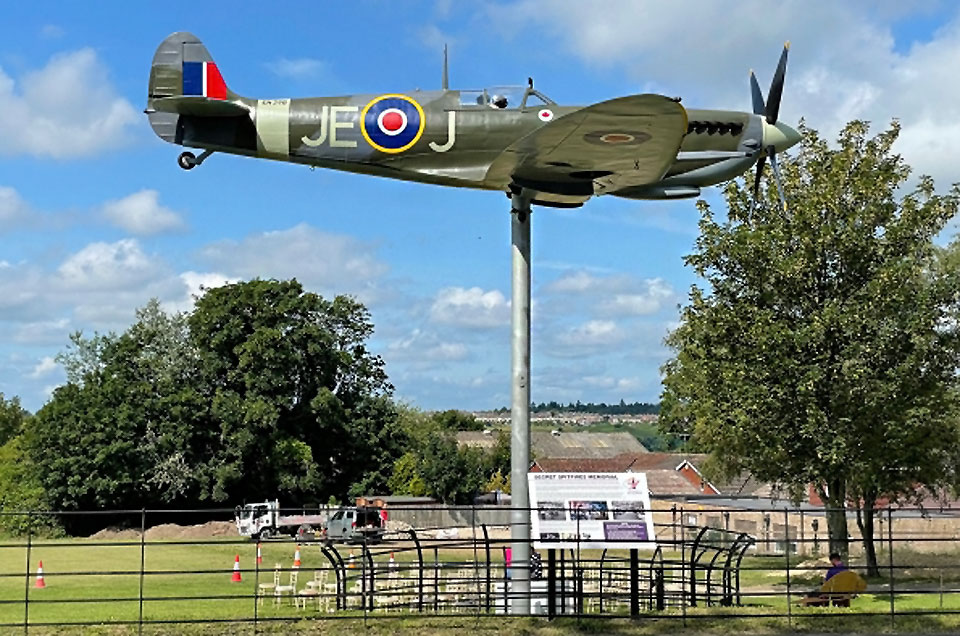 The Secret Spitfire Memorial