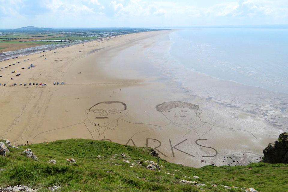 Sparks Beach Art