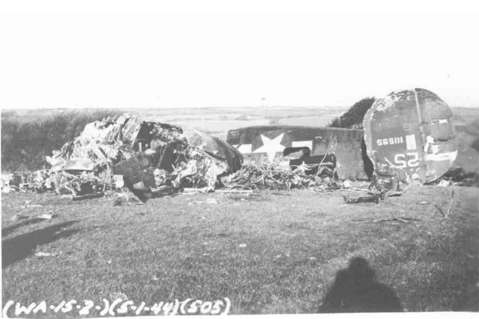 The Ole Faithful B24 Bomber crashed in 1943 near St Mawgan, Cornwall
