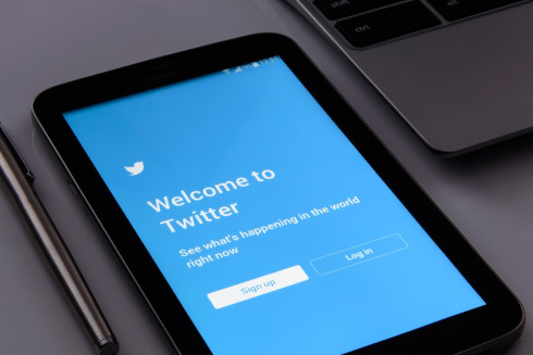 Twitter Log In Page