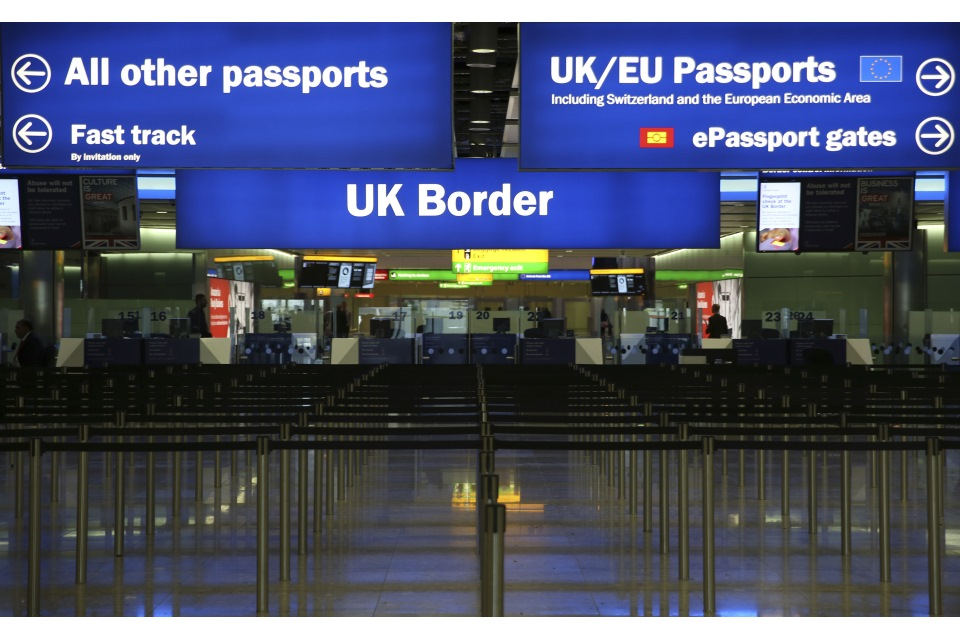 UK Border Controls at Heathrow Airport