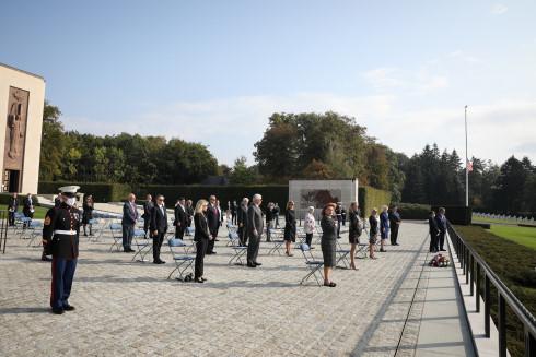 US Ambassadors at ABMC Luxembourg