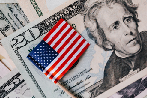US Flag US Dollars
