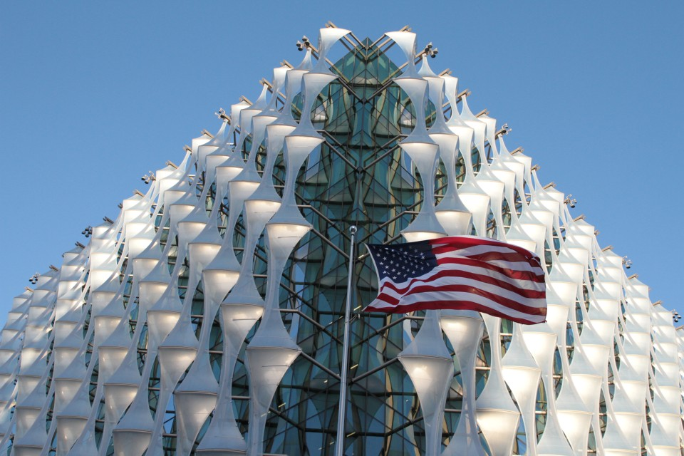 US Embassy in Nine Elms, London. Photo courtesy US Embassy London.