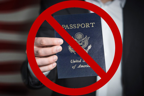 US Passport No Entry