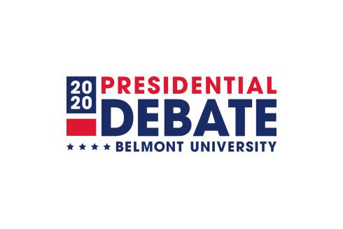 US Presidential Debate Logo Belmont