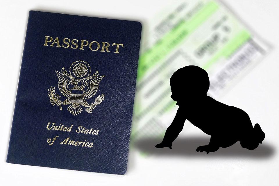 US Passport Baby