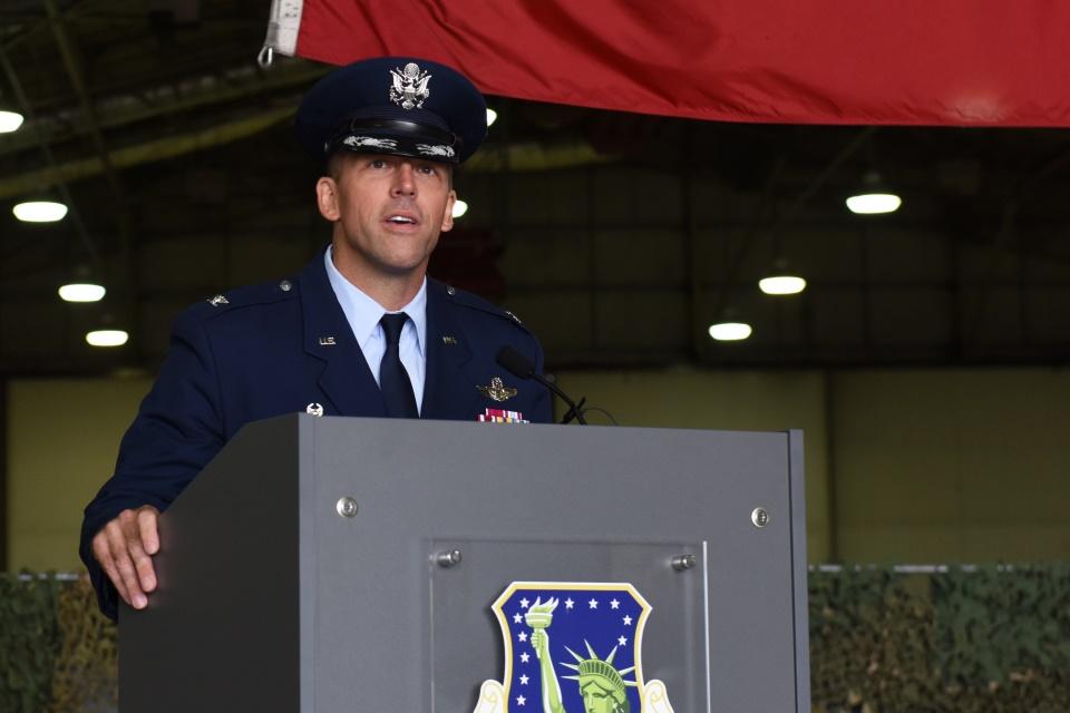 USAF Col. Jason Camilletti