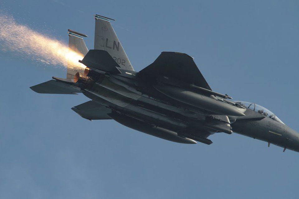 Maj. Grant Thompson's F-15