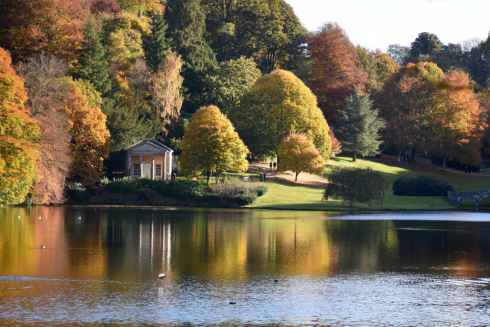 Autumn at Stourhead Gardens, Wiltshire