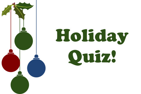 Christmas Bauble Holiday Quiz