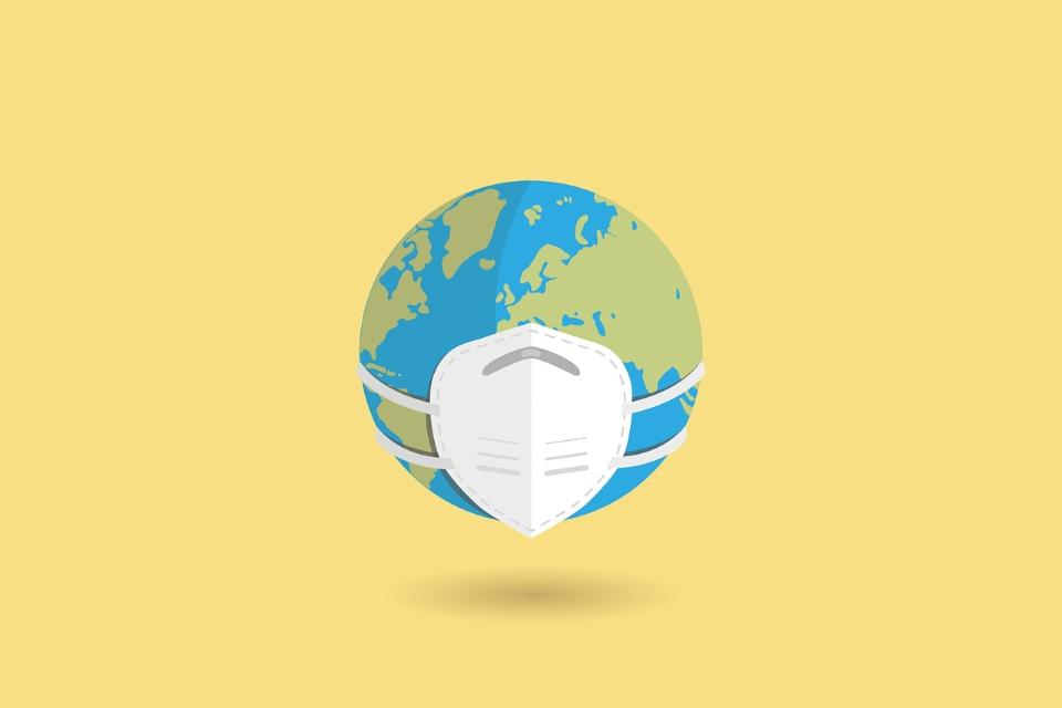 Covid-19 Globe Mask