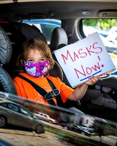Masks Now Girl