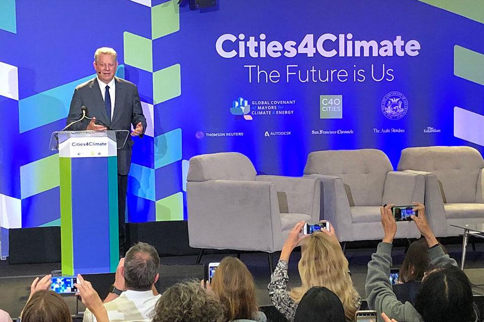 Al Gore, GCA 2018