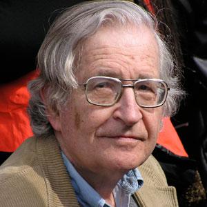 Noam Chomsky by Duncan Rawlinson