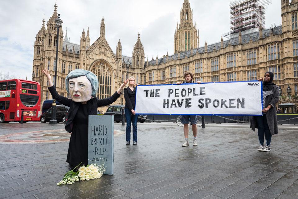 Avvaz Brexit demo