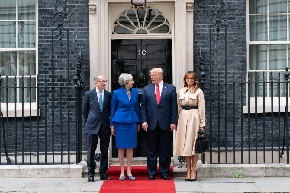 President Trump and Prime Minister May