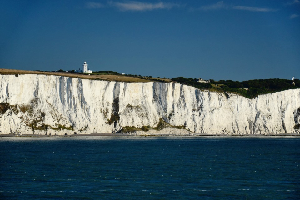 The White Cliffs of Dover. Photo © VJ Kombajn