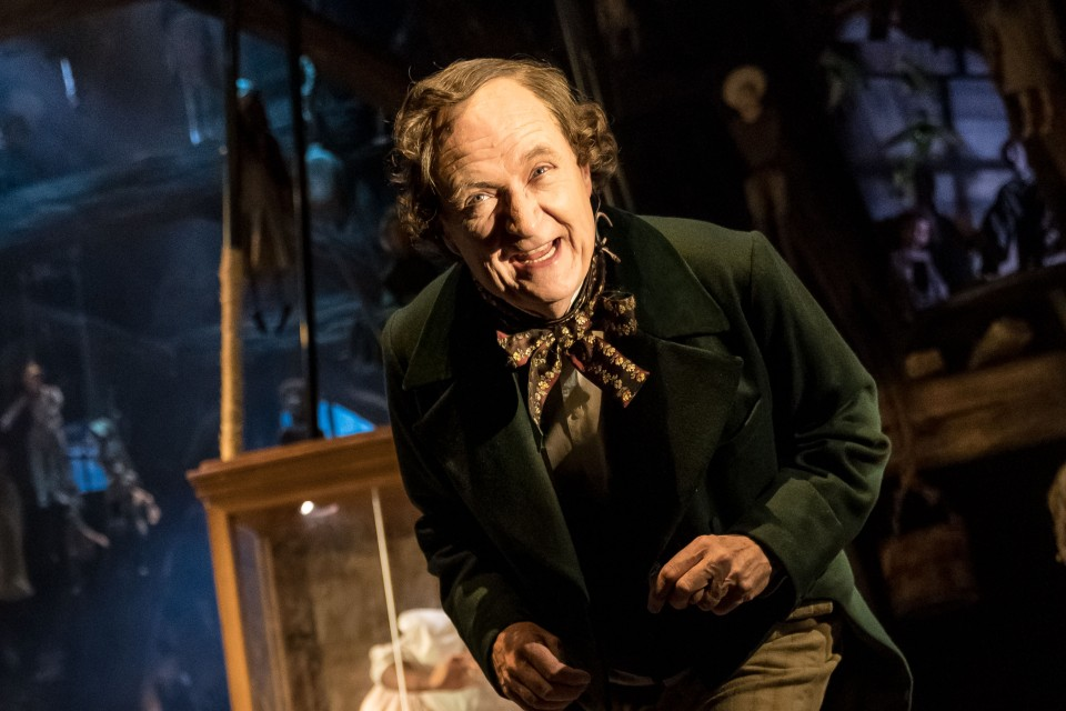 Jim Broadbent as Hans Christian Andersen in <i>A Very Very Very Dark Matter</i> Photo: Manuel Harlan