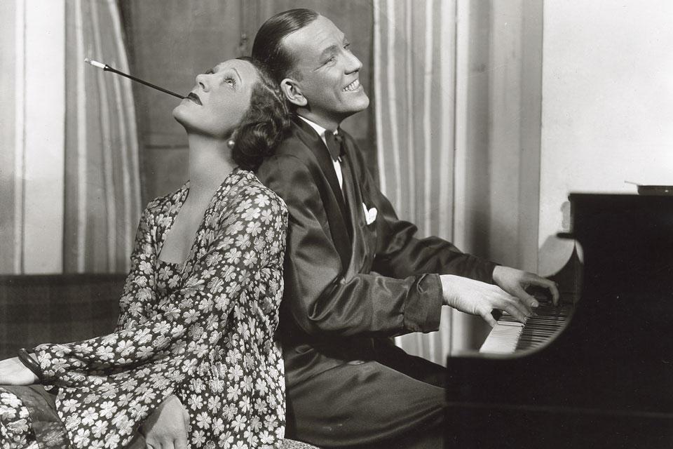 Gertrude Lawrence and Noel Coward
