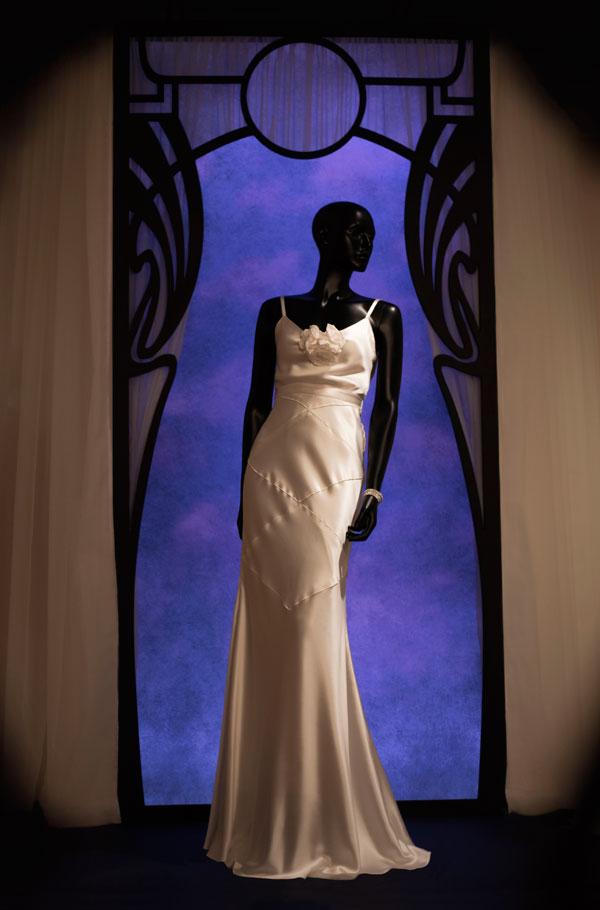 Noël Coward White Dress