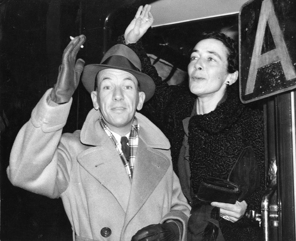 Noël Coward& Gladys Calthrop