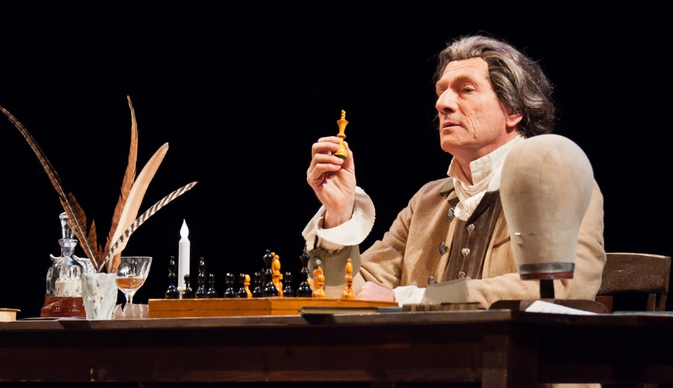 Ian Ruskin as Thomas Paine. Photo: Tom Dempsey