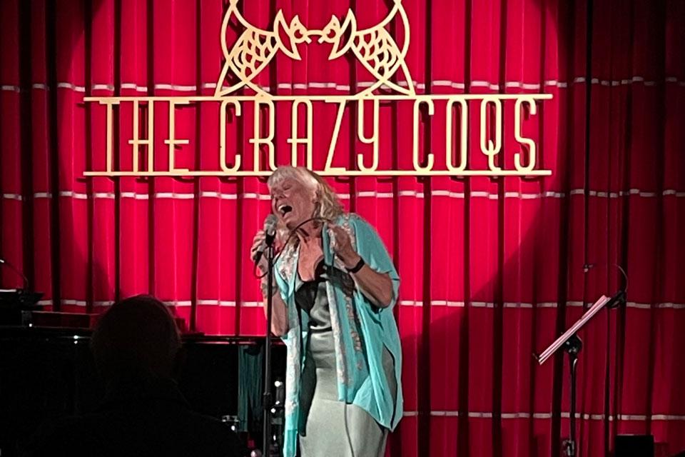Barb Jungr at Crazy Coqs