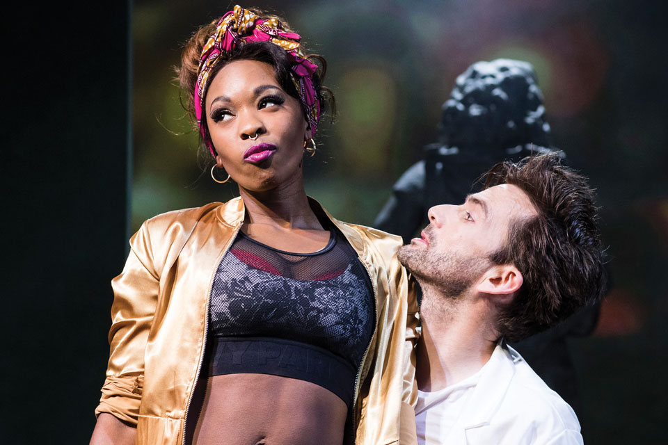 Don Juan in Soho: Dominique Moore and David Tennant