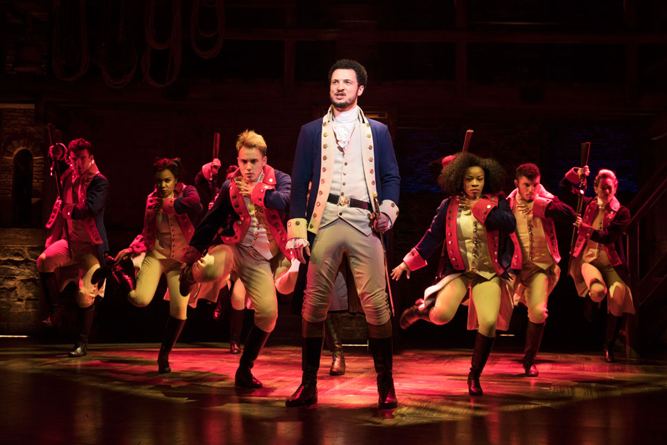 Jamael Westman as Hamilton