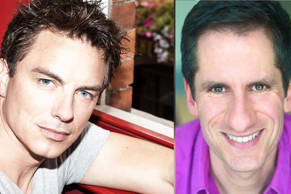 John Barrowman and Seth Rudetsky