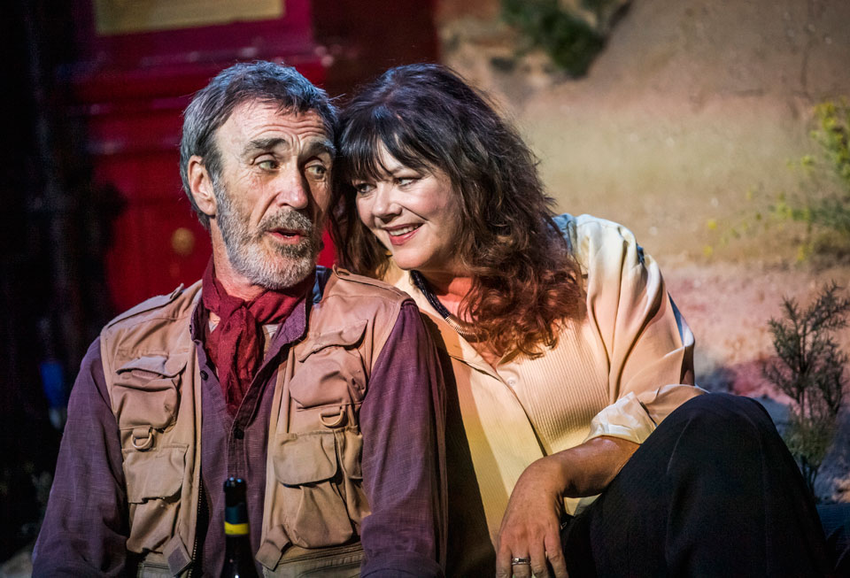 Joe McGann and Josie Lawrence