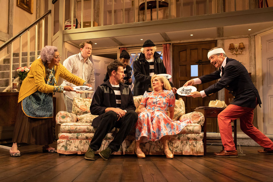 Noises Off at The Lyric
