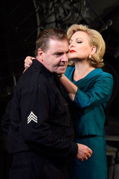 Brendan Coyle and Sara Stewart The Price