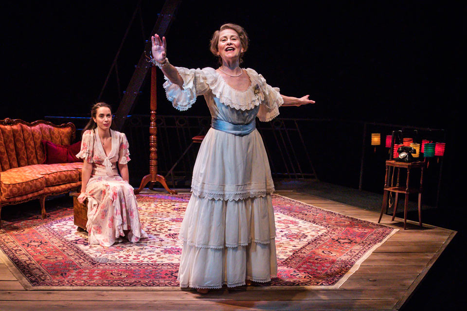 Cherry Jones & Kate O'Flynn on The Glass Menagerie