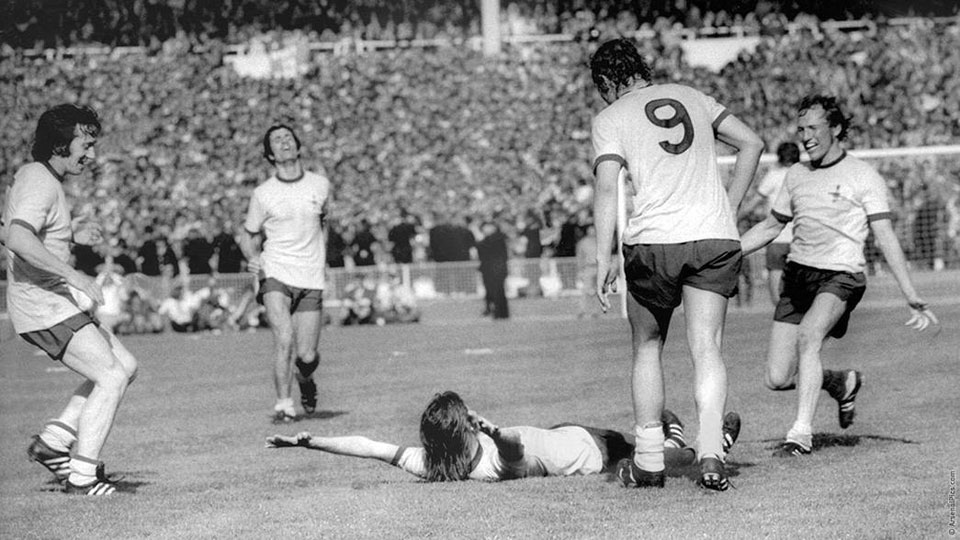 Arsenal the Double v Liverpool 1971