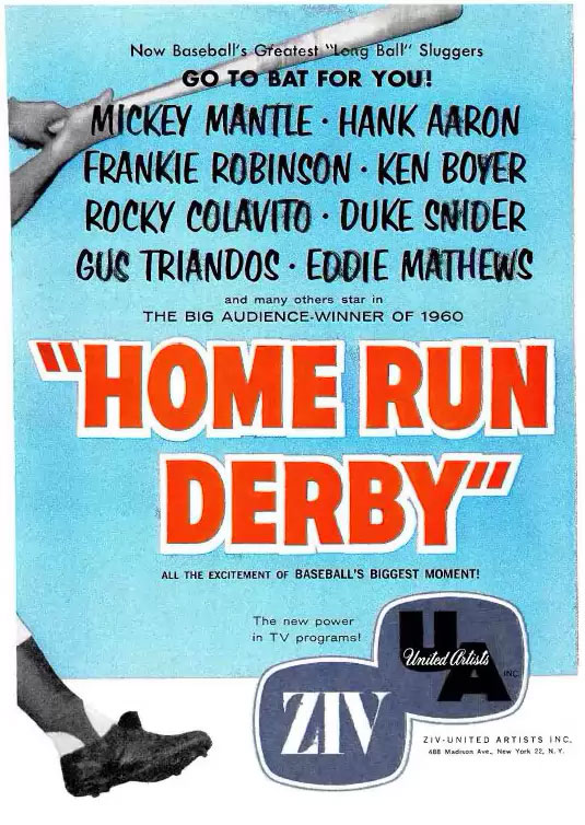 Home Run Derby Ad