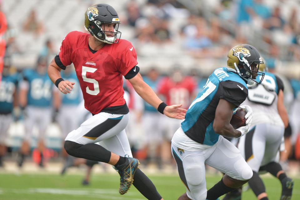 Jacksonville Jaguars-Bortles & Fournette