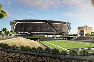 Las Vegas Raiders stadium architect's impression