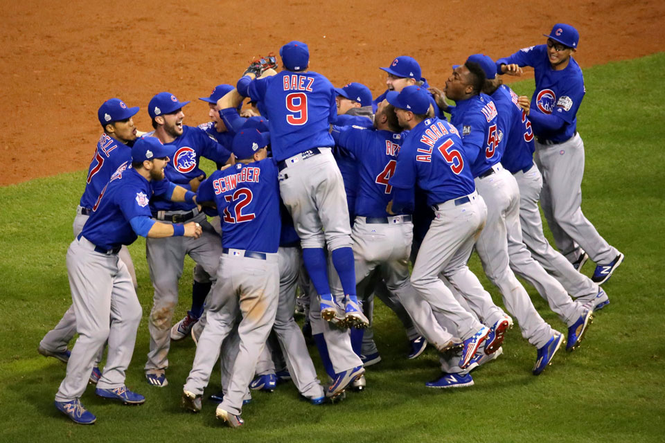 Chicago Cubs win 2016
