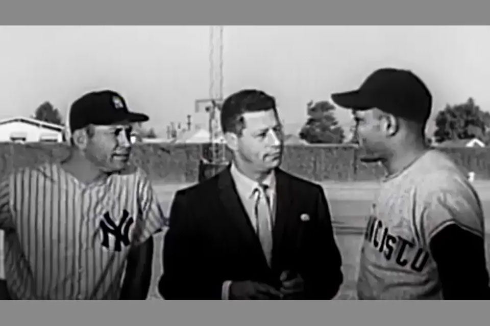 Mickey Mantle, Mark Scott, Willie Mays
