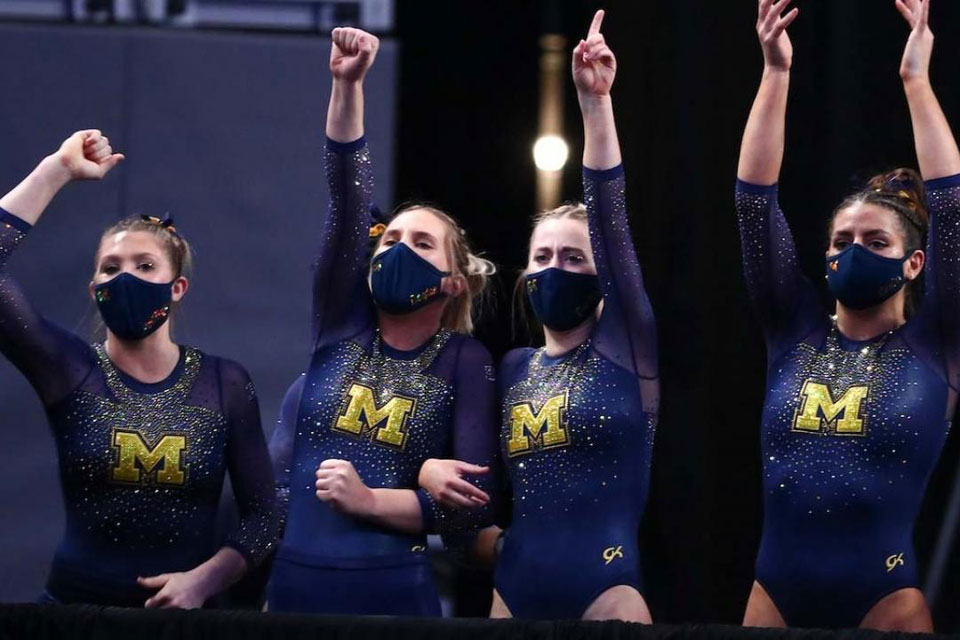 Michigan win their first Gymnastic Women's title
