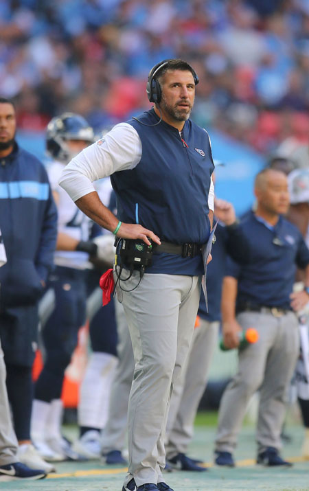 Mike Vrabel head coach Tennessee Titans
