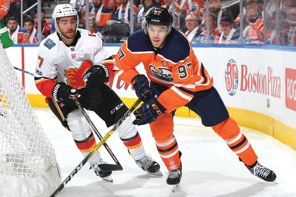 NHL Edmonton Oilers' Connor McDavid