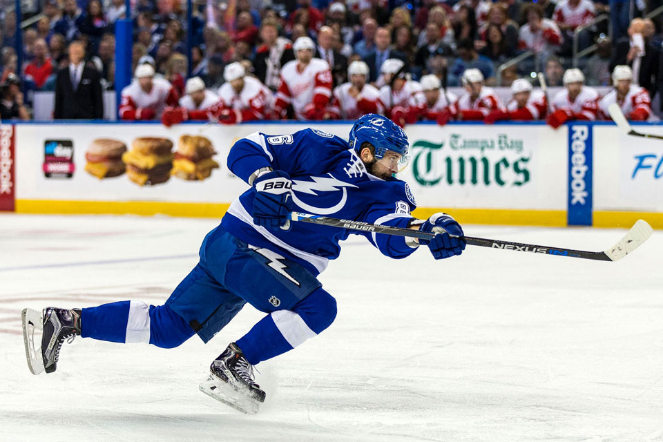 Nikita Kucherov of Tampa Bay Lightning. Photo courtesy: NHL