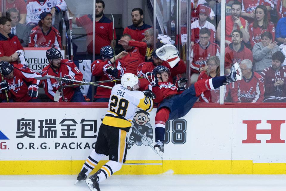 Penguins at Capitals
