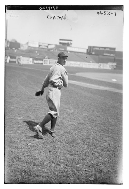 Cleveland Indians' Ray Chapman